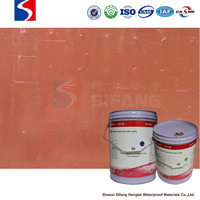 polyurethane elastomer waterproofing coating material with high strength