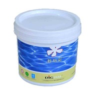 Water soluble white paint half gloss wood nano coating