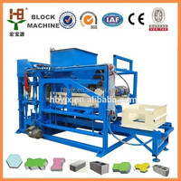 High production Hydraulic press QTJ4-15 fully automatic concrete block making machine
