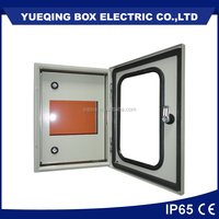 transparent door metal enclosure IP65