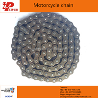 standard motorcycle part 40mn steel 428H color motorcycle roller chain