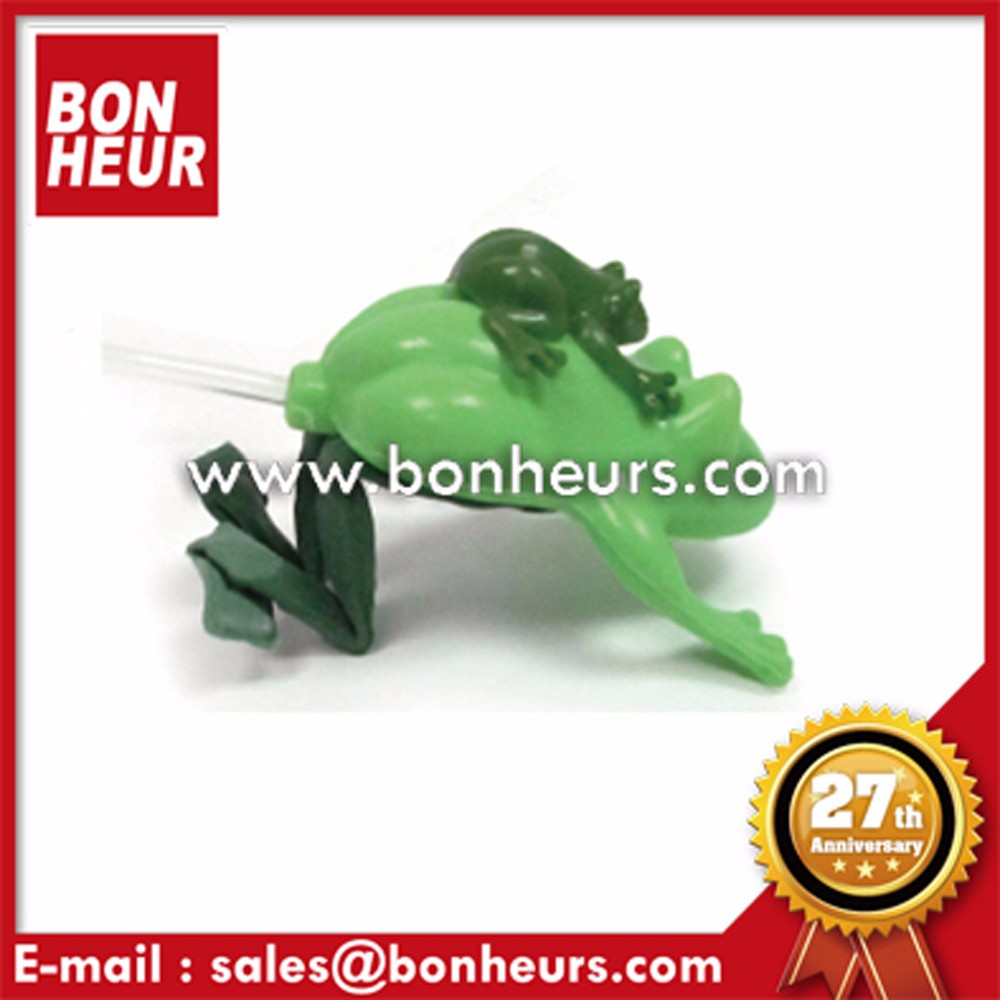 New Novelty Toy Soft Animal Squeeze Small Rubber Jumping Frog