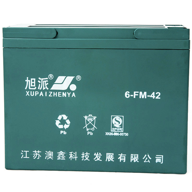 12V42AH electric battery used forklift battery