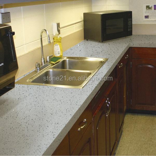 Quartz Countertops Product : Sparkle white quartz countertop view countertops