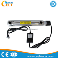 water filter uv sterilizer for drinking water / uv lamp water filter in aquaculture /uv sterilizer for Household water