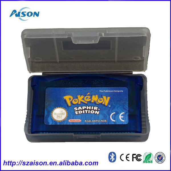 Pokemon Video Game Cards for NDSL/GB/GBC/GBM/GBA SP