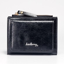 6 colors Baellerry fashion new woman wallet short style zipper European style lovely coin purse money clip minimalist wallets