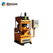 Donyue manual interlocking clay brick making machine