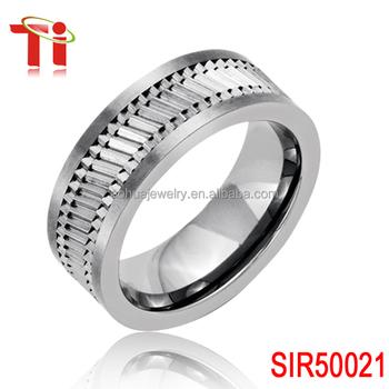 tungsten Wedding Band Ring Gear combination rings Fashion gear