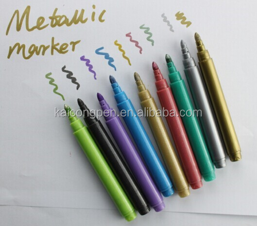 KAICONG Water-based DecoArt Metallic Marker for wine glass marker / wine marker Glitter marker