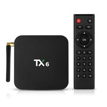 TX6 Tv Box Allwinner H6 Quad Core 4GB RAM 32GB ROM Dual WiFi Android 9 Media Box