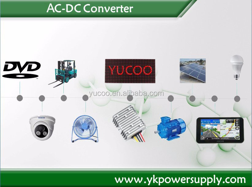 Single DC Converter 24vac to 12vdc