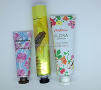aluminum cosmetic packaging tube for hand cream