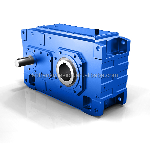 Power transmission high torque HB series reducer bevel helical belt conveyor gear box