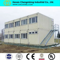LUXURIOUS SHELTER 20ft 40 wooden prefabricated houses
