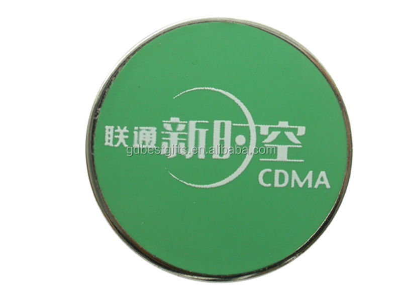 custom different kinds badge material