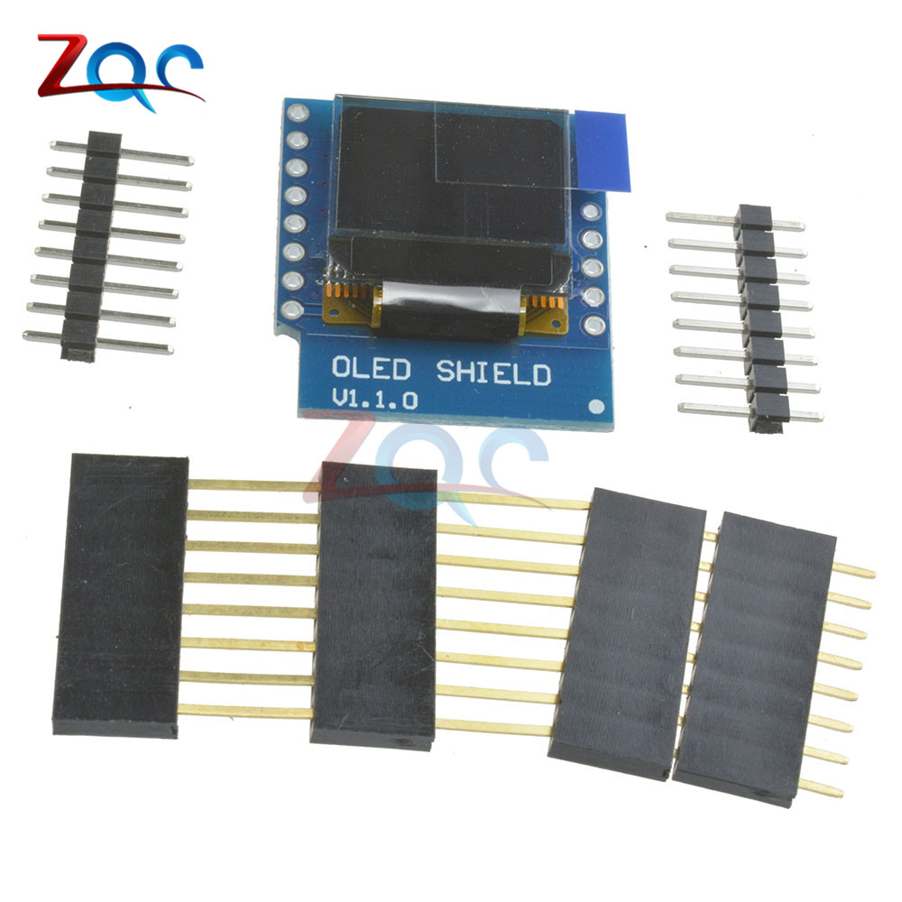 SSD1306 OLED Shield for WeMos D1 mini 0.66\