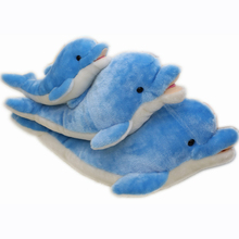 HI CE stand good quality blue whale plush toy