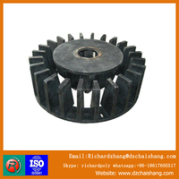 Stator for flotation machine in copper mining , rubber impeller , wire mesh screen