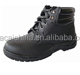 Perfect Industrial Steel Toe and Steel Plate Genuine Cow Leather work Safety Shoes