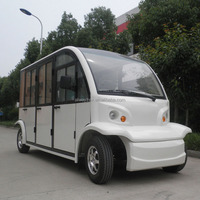 Enclosed electric passenger vehicle