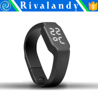 silicon bracelet watches for kids fitness wristband pedometer smart wristband watch calorie pedometer watch with wristband