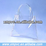 Lady fashion clear plastic pvc handbags XYL-D-H414