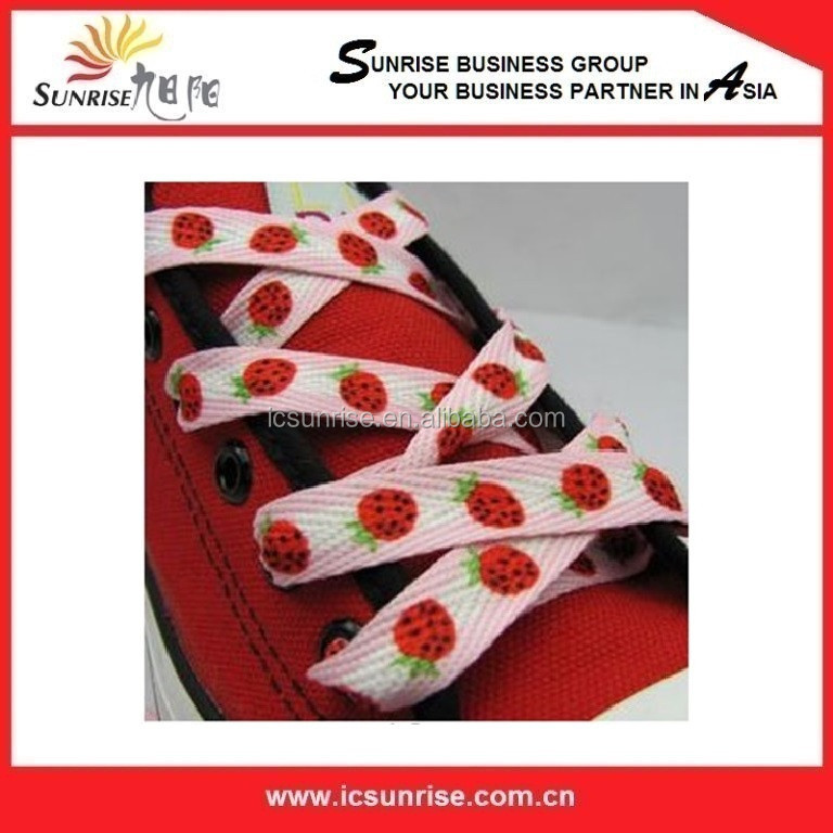 Custom Printed Shoelace For Sale