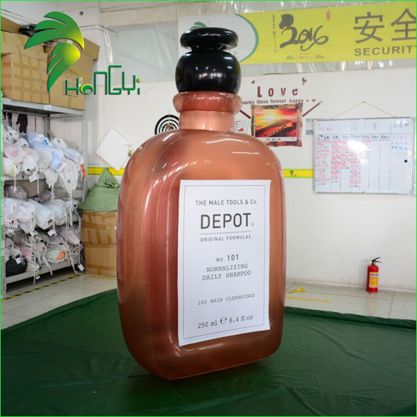 Customize Advertising Inflatable Alcohol Bottle , Wine Bottle , Liquor Bottle For Sale