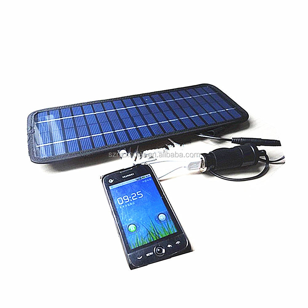 2017 New 4.5W 12V Solar Panel Auto Car Battery Charger