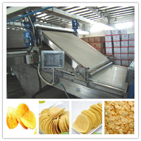 Full automatic best selling potato chips making production line/potato chips making machine