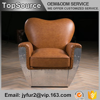 Coffee Shop Aviator Cover Recliner Leather Loveseat Sofa Chair