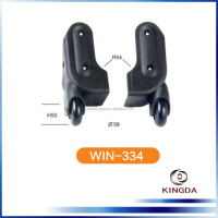 durable luggage handle parts and wheel