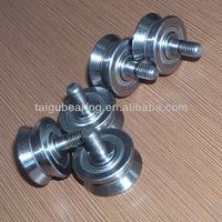 RV 20/7-10 Industrial Robot Trolley Wheel Bearings With Shaft