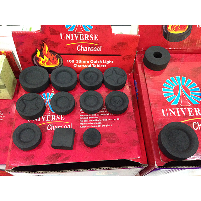 hookah charcoal 33 35 38mm