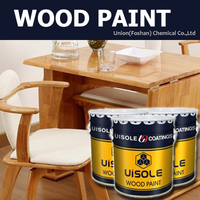 High Performance Polyurethane Coating , High Gloss Wood Deco Paint