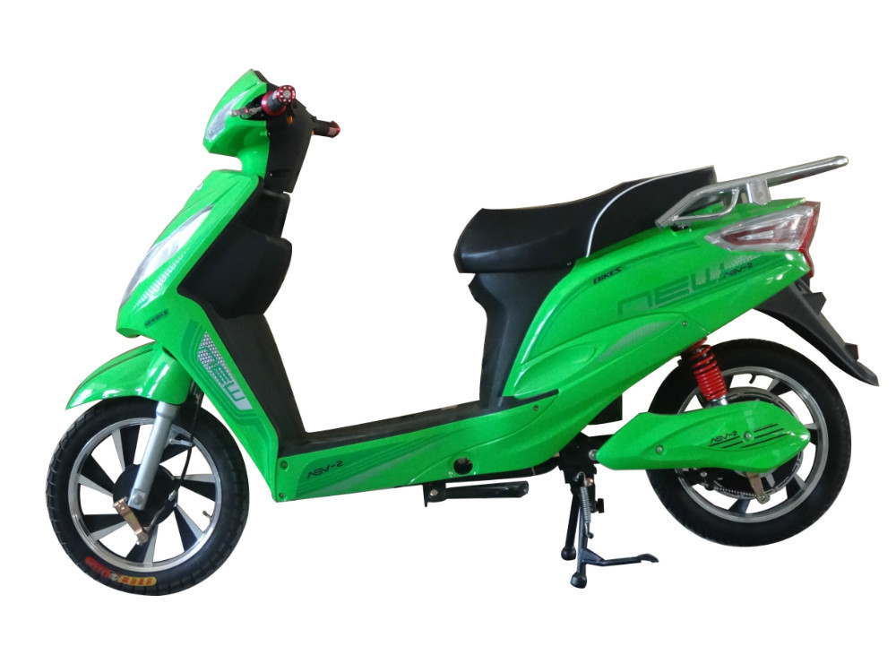 48v 500w Adult Electric Scooter Bike With Pedals Ce