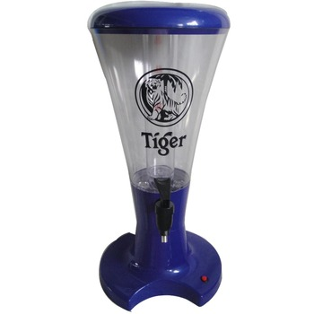 2018 3L new LED light beer dispenser and juice tower for hot sale