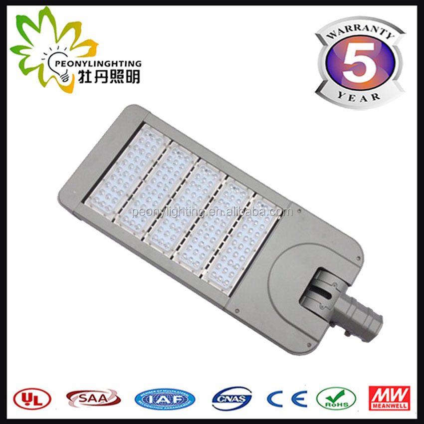 BIG SALE 250w outdoor adjustable LED street light, cheap led street light solar led street lamp with CE& ROHS approval