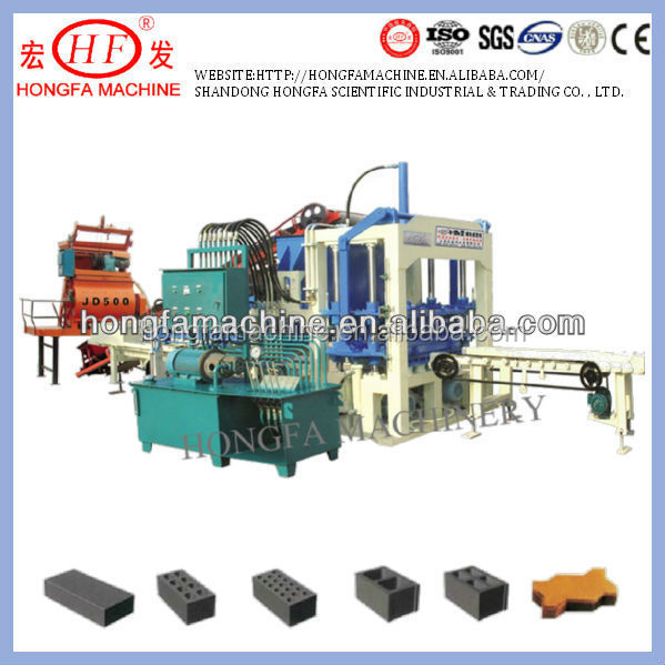 concrete brick making machine supplier tel phone number / hollow brick machinery manufacturer cell phone number 008613969983506