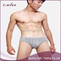 Sexy Boy Bamboo Fiber Breathable Thong Underwear For Men