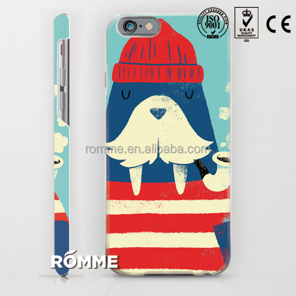 phone case cover printing manufacture custom printed high quality 3D sublimation back case cover for iphone 6
