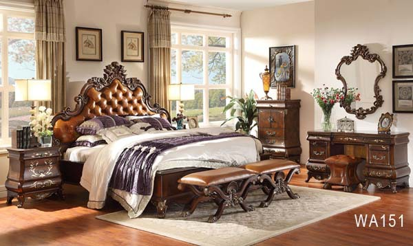 Juego de dormitorio nuevo modelo europeo de lujo de estilo - Nuevo estilo dormitorios ...
