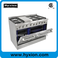 Hyxion 48'' 6 burner 110v electric range