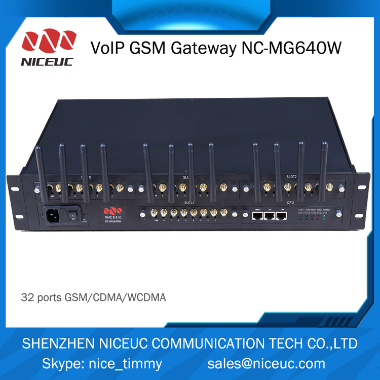 Great product cdma sip voip gateway 3g wcdma modem 16 ports 64 sims gsm voip gateway with high asr and acd sim gsm gateway