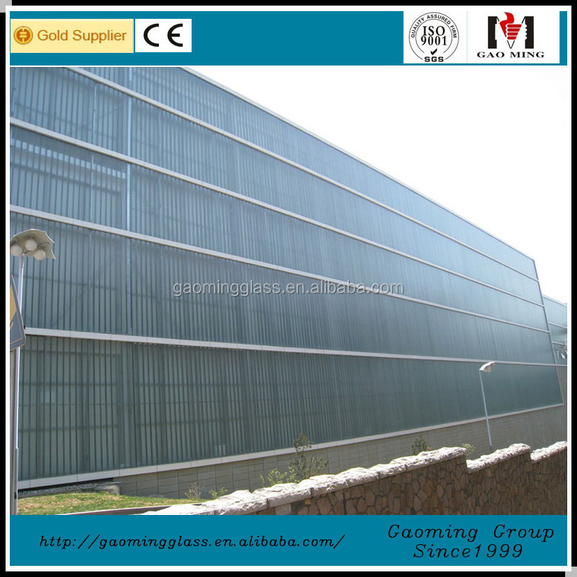 Tempered Glass, Safety U Glass, U Channel Glass for Bathroom PT10-15