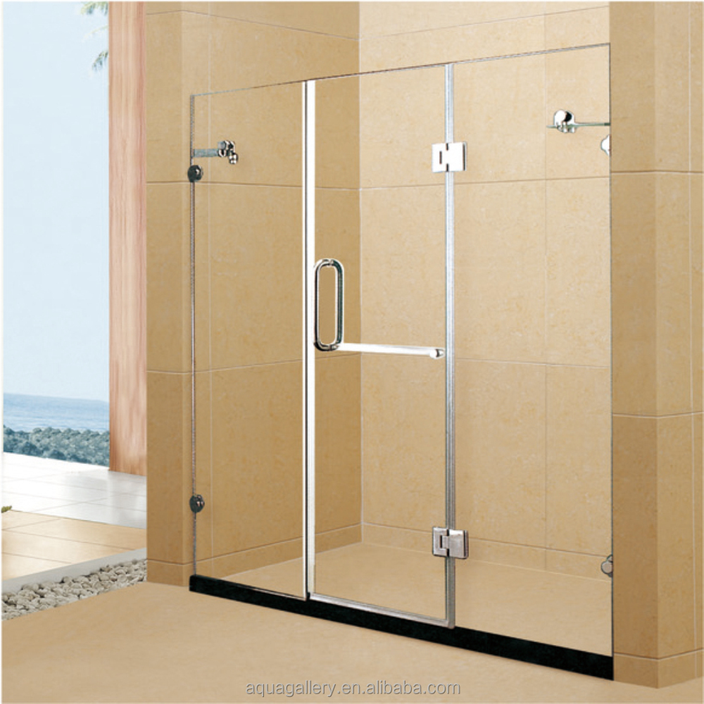 bottom swinging shower door