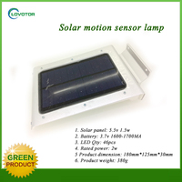 solar powered security lights solar wall light motion sensor led light