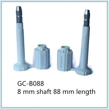 Hexagon cap security seals GC-B088 with 8 mm shaft