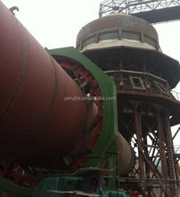 2.5*44m rotary kiln / quicklime calcining kiln / active lime burning kiln